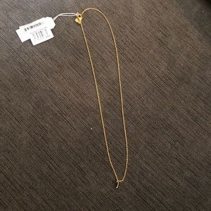 """T"" Necklace"